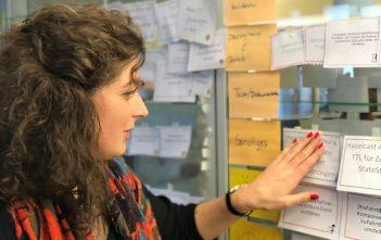 Christine-Felicitas Hausmann lernte ihren ersten Arbeitgeber auf einer Kontaktmesse für und von Beratungsfirmen kennen