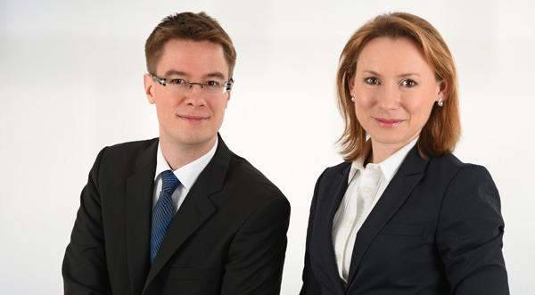 Christoph Rammé und Elena Keilmann, Gründer Consocium