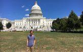 Ein Projekt im ersten Jahr als Consultant führte Frederik Haas nach Washington