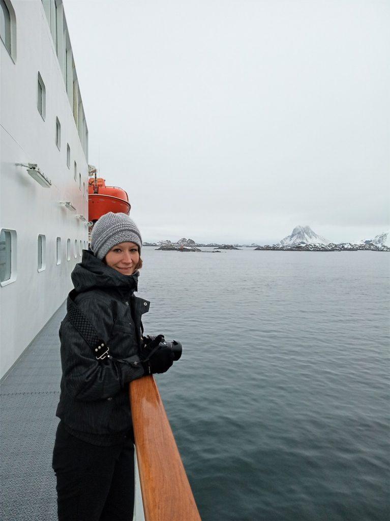Ilka Cremer, Simon-Kucher & Partners Persönliche Auszeit: Ilka Cremer, hier privat unterwegs mit Hurtigruten in Norwegen, ist eine begeisterte Fotografin