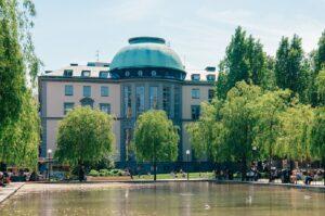 Hauptgebäude Stockholm School of Economics