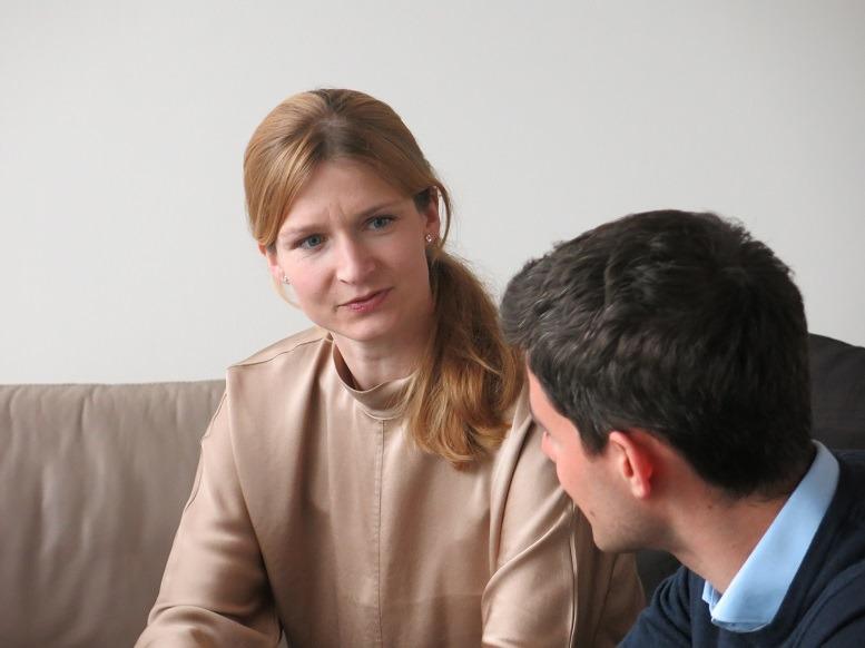 Silvia Bergmann, Partnerin, bain