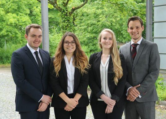 Janina Höniges und Eliza Mertins bilden die weibliche Doppelspitze im Bundesverband deutscher studentischer Unternehmensberatungen (BDSU)