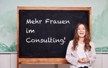Seit September absolviert Aljana Scharrer ein berufsbegleitendes Masterstudium