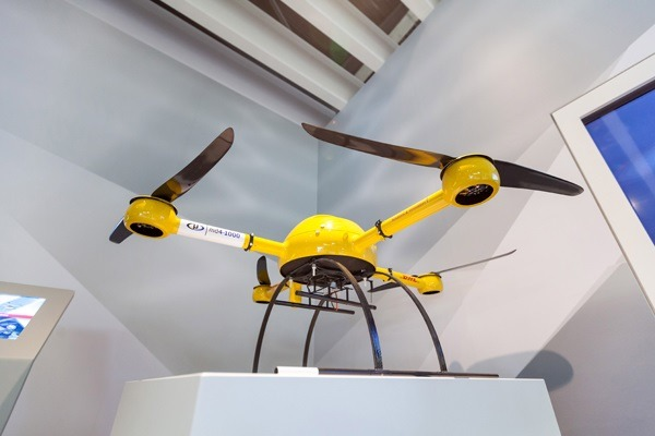 "The ""Paketkopter"": One of the coming innovations (Bild: Deutsche Post AG)"