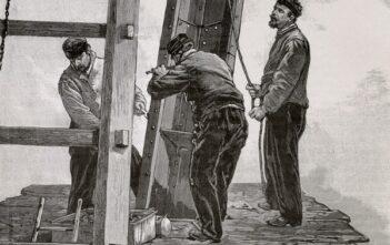 Ingenieure beim Bau des Eiffelturmes