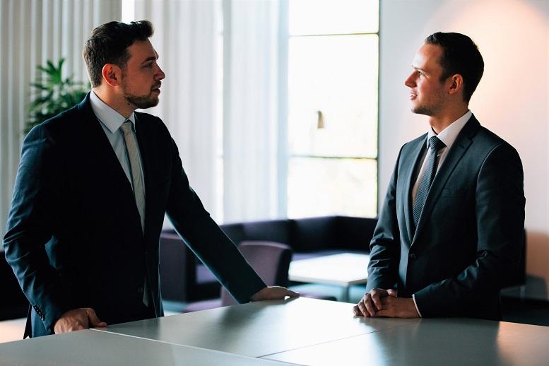 Marcel Xander (links) und Niels Gent-Emmert von der Fiducia & GAD IT AG