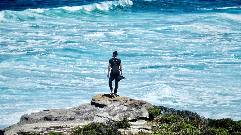 Die Hemisphäre, aber nicht den Arbeitgeber gewechselt: Frederick Marczyk an der Küste von Australien