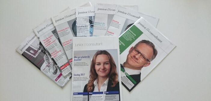 junior //consultant-Ausgaben von 2009 bis 2017