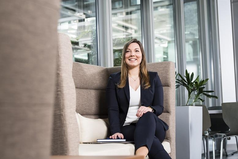 Laura Feldmann ist seit August 2018 bei LHIND