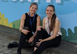 Glücklich in der Boutique: Rebecca Weyers und Melanie Abel vom Salesforce-Spezialisten PARX