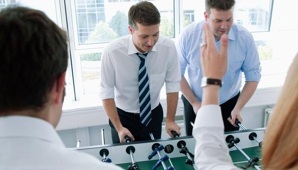 """""""Office Friday"""" bei SMC: Hier sind Teamkompetenzen gefragt."""